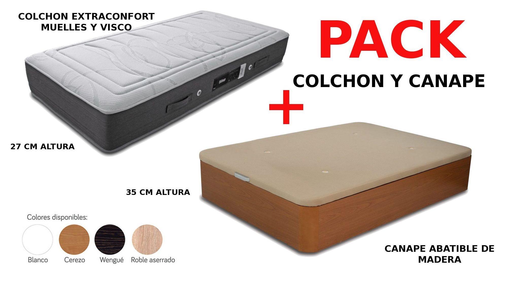 EV Colchonería: Conjuntos colchón y canapé desde 366 €