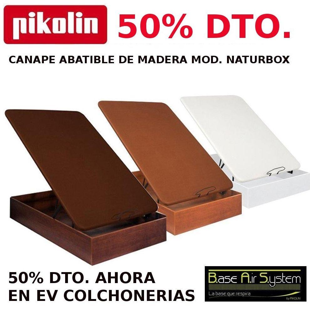 EV Colchonerías: 50% dto. canapés Pikolin