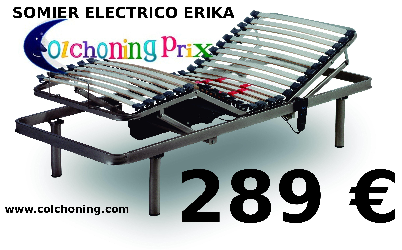 Colchones y somieres en EV Colchonería: Cama eléctrica articulada por 289 €