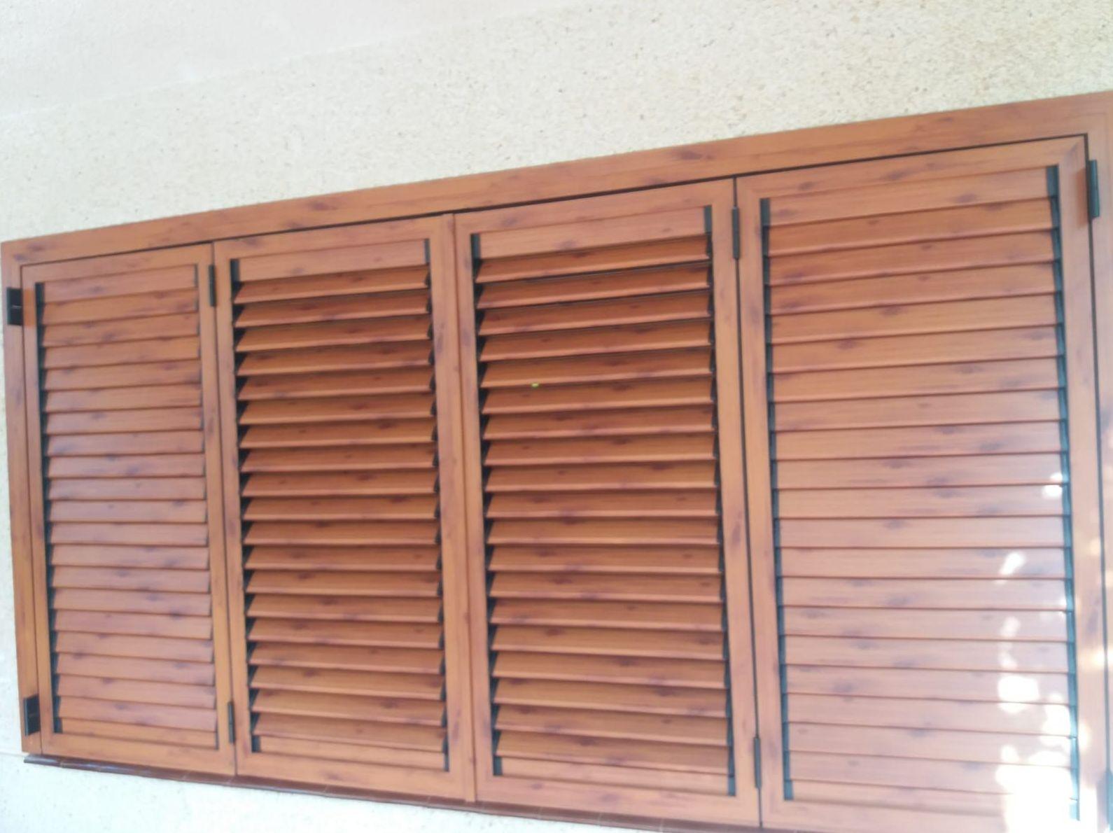 Mallorquina color madera