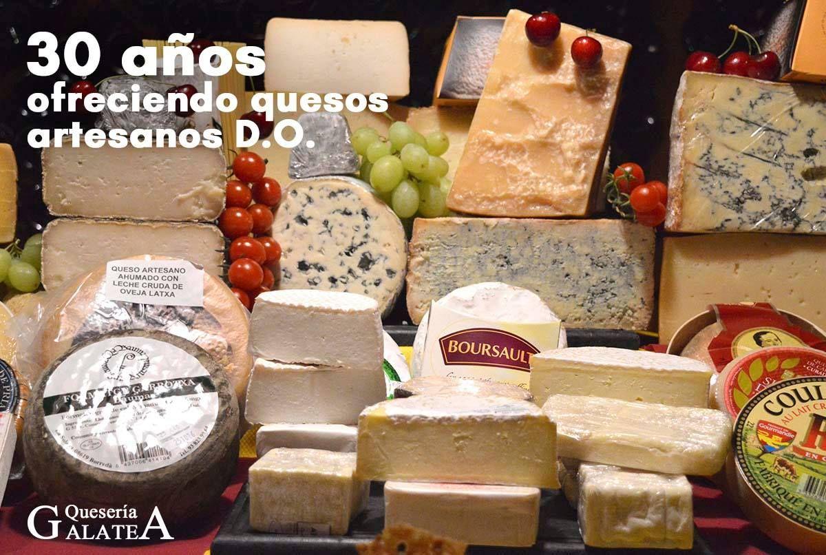 Tabla de quesos en Almería