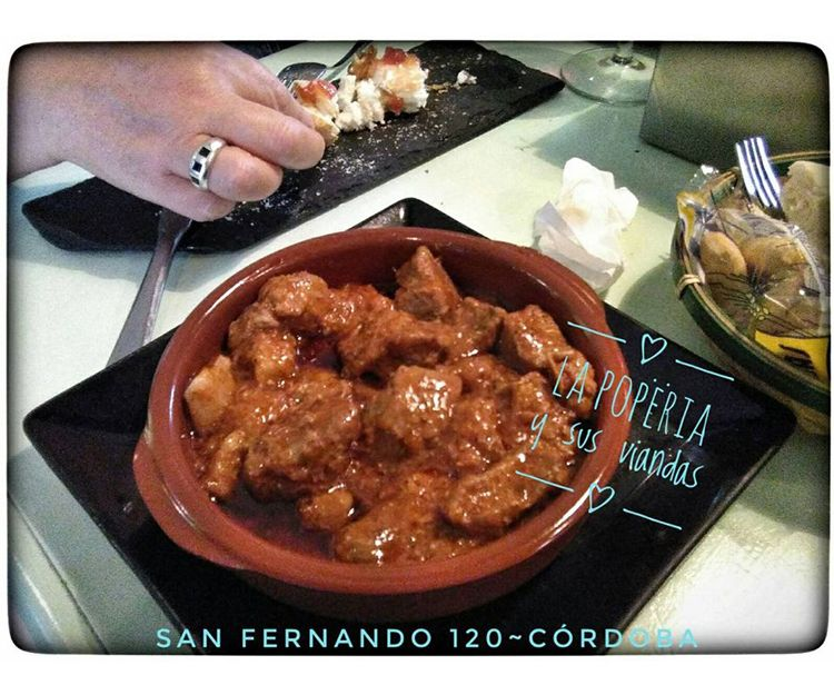 Carne con tomate en Córdoba