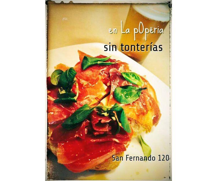 Tosta de jamón en Córdoba