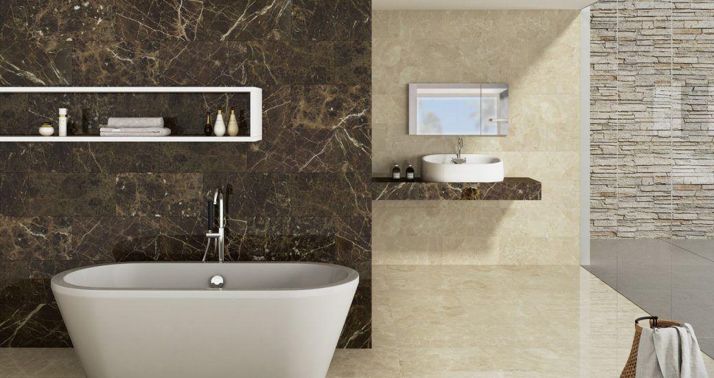 Baños con materiales de primera calidad en Madrid