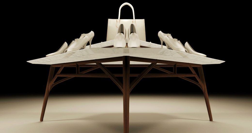 Diseño de mesas y pedestales en Madrid