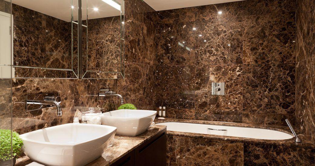 Piedras nacionales y de importación para diseños de baños