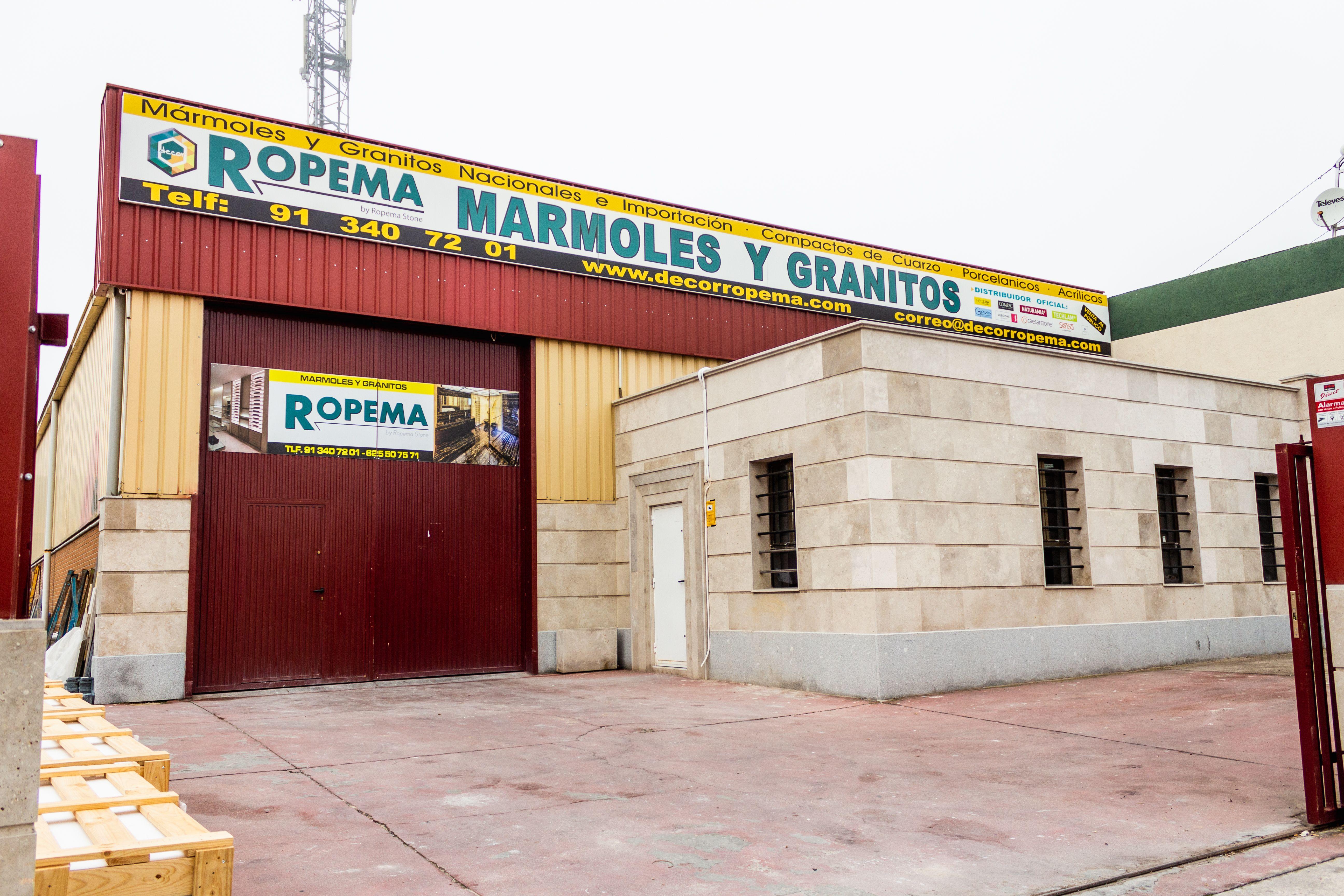 Mármoles y granitos en Madrid