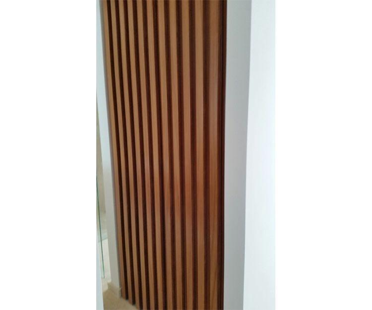 Panel de madera a medida