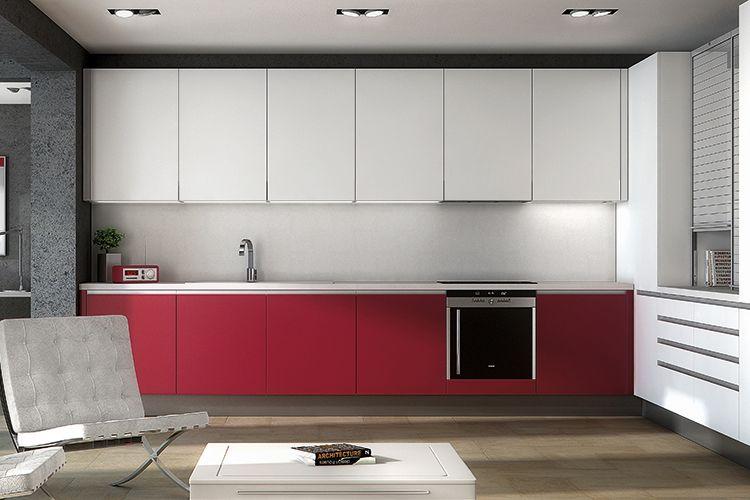 Muebles de cocina de estilo moderno