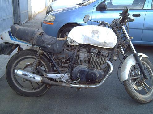 Restauración integral de una Suzuki GS 400. Estado inicial