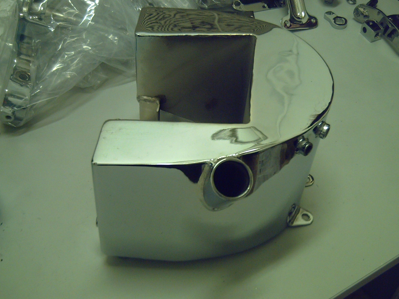 Pulido y cromado de todo tipo de metales : aluminio, latón , hierro e inoxidable.