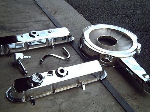 Tapas balancín y filtro aire Cadillac (después)