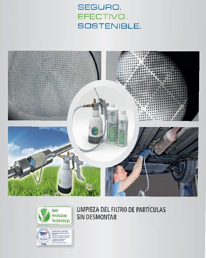 Limpieza de filtro de partículas: Servicios de Talleres Jesús Gil
