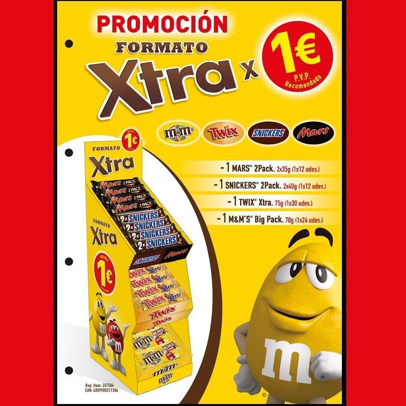 EXPOSITOR XTRA de MARS PVP 1 €: Productos de Sarigabo, S. L.