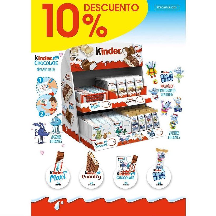 EXPOSITOR KIDS DE KINDER: Productos de Sarigabo, S. L.