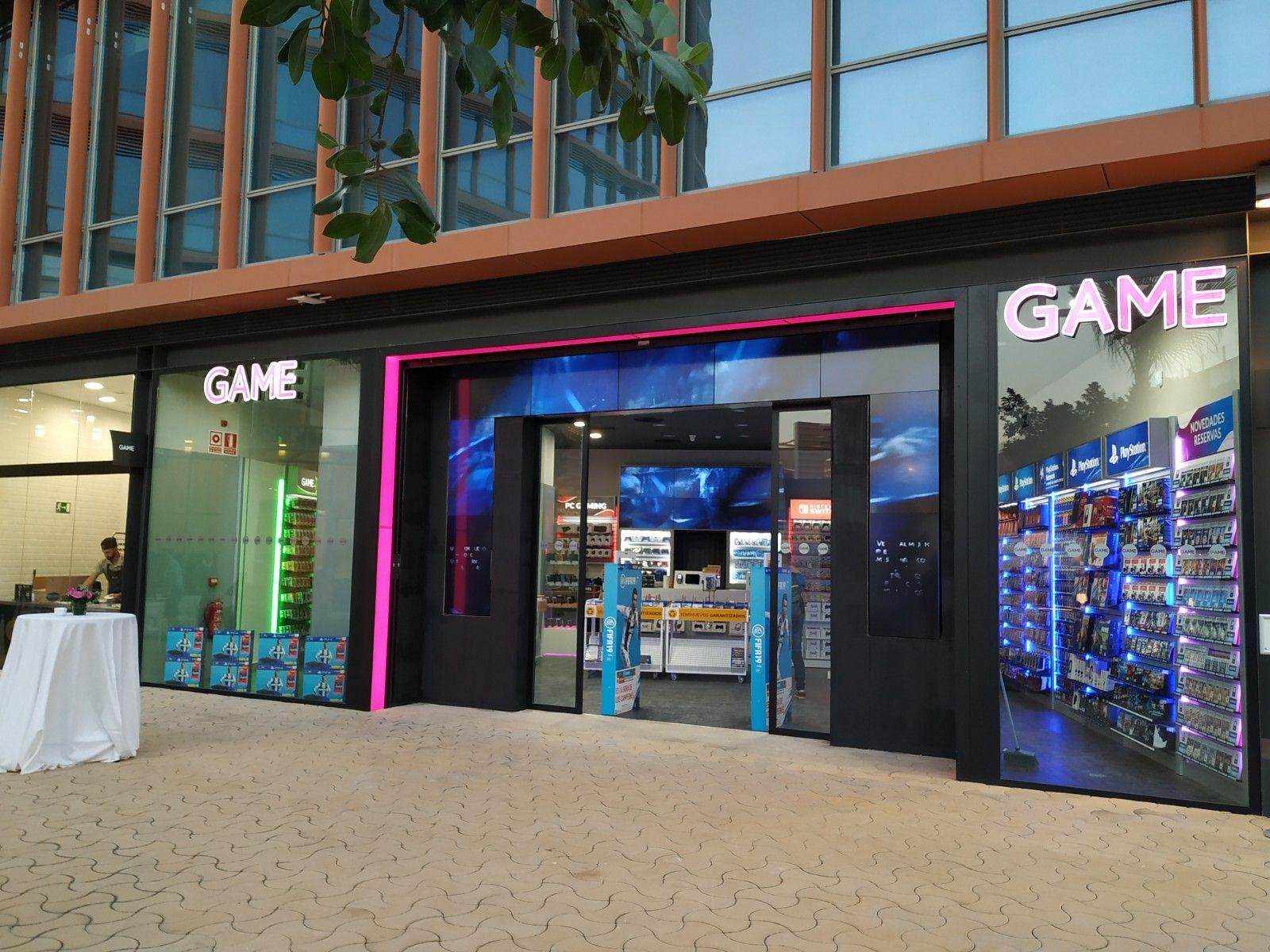 Trabajos en la tienda Game de Sevilla