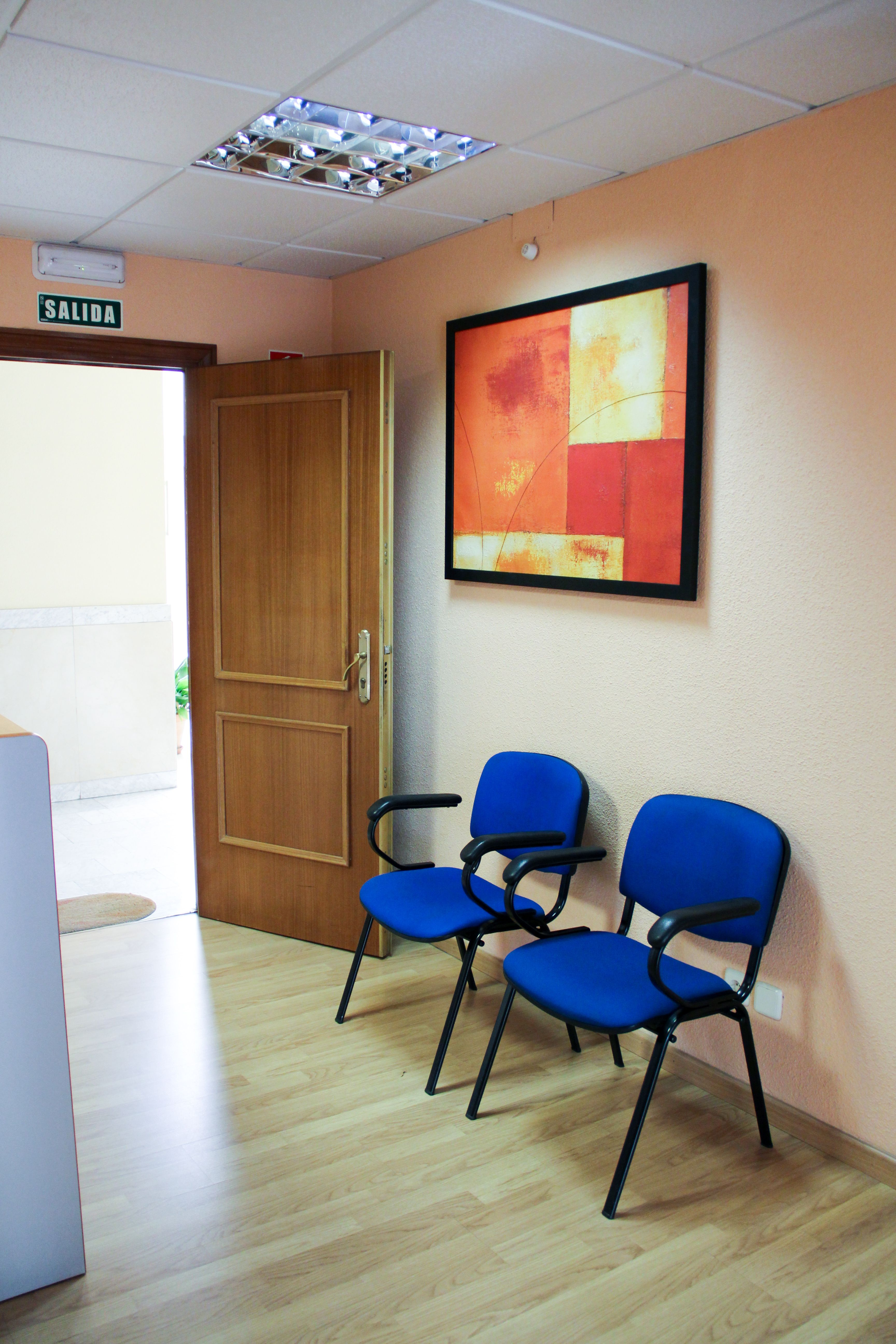 Sala de espera Finanser Asesores