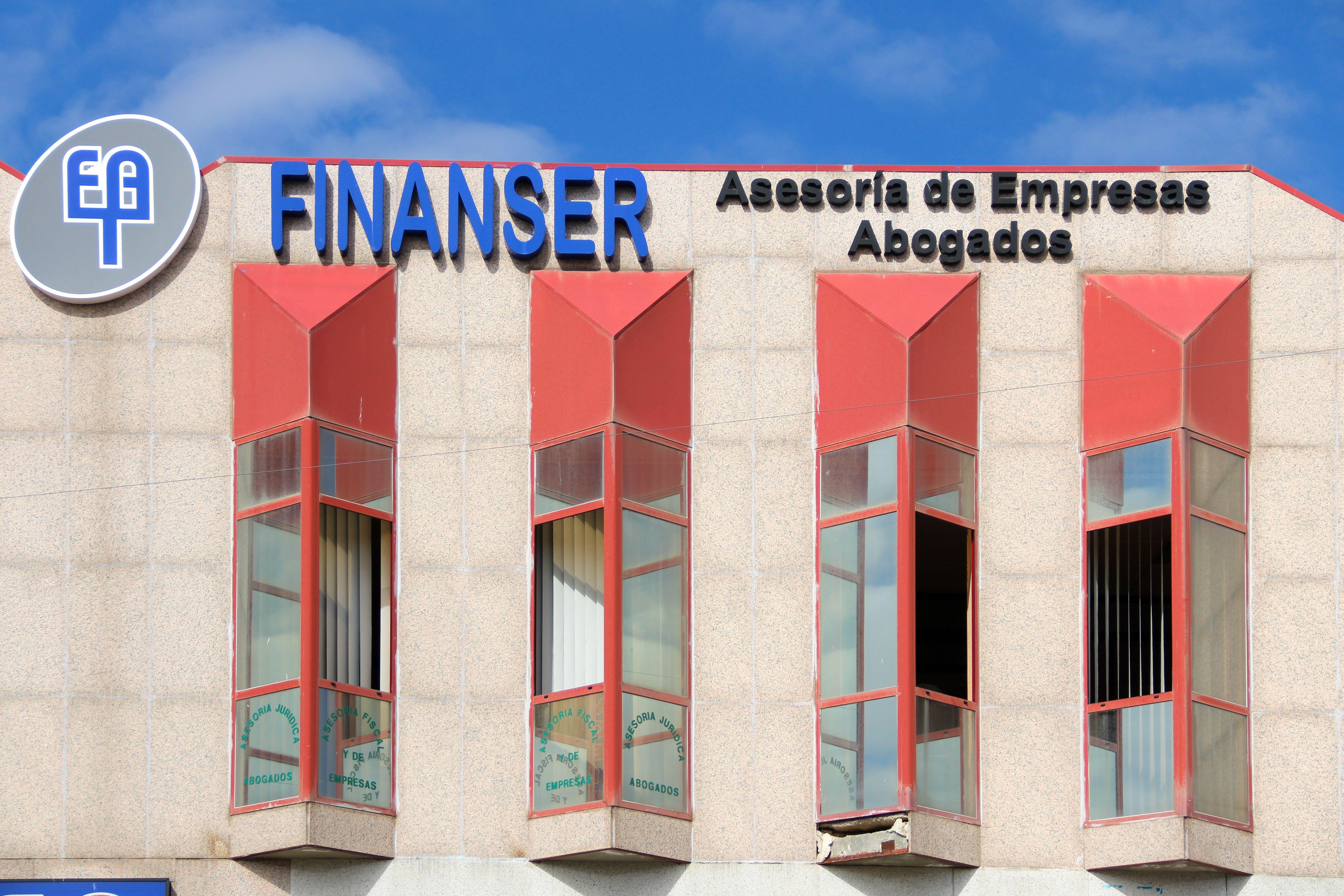 Exterior instalciones Finanser Asesores