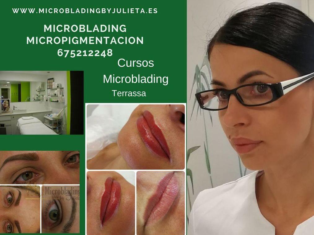 Microblading / Cusos de Microblading / Productos de Microblading en Terrassa