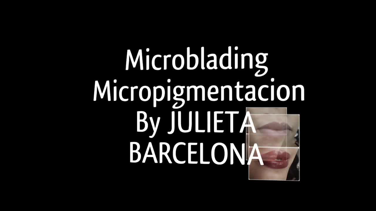 Microblanding de cejas Barcelona  }}