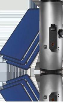 Montaje de equipos compactos de energía solar térmica