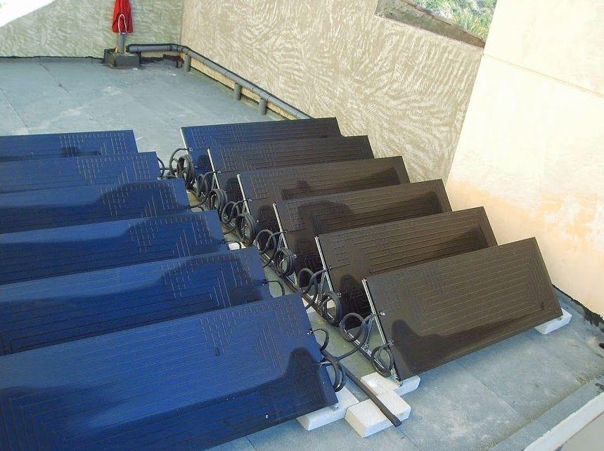 Instalaciones de agua caliente sanitaria por energía solar en Alicante