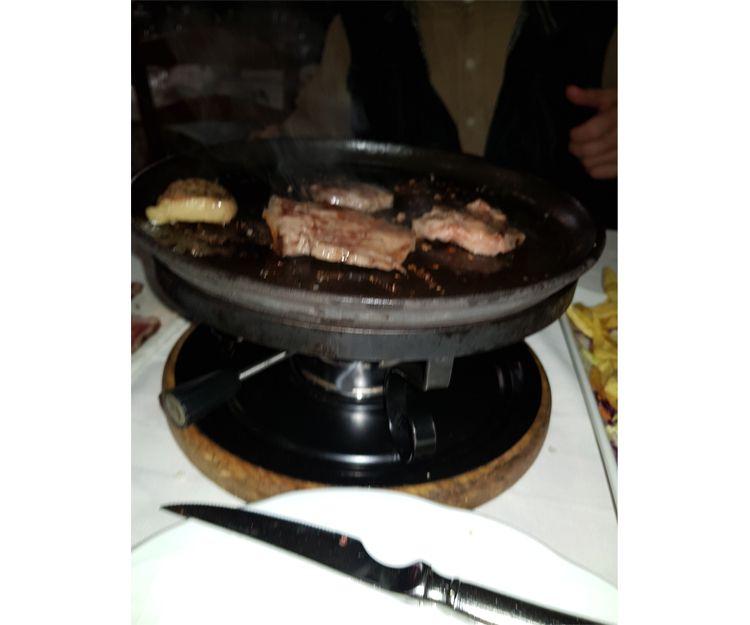 Carne a la piedra en El Rincón de la Victoria, Málaga