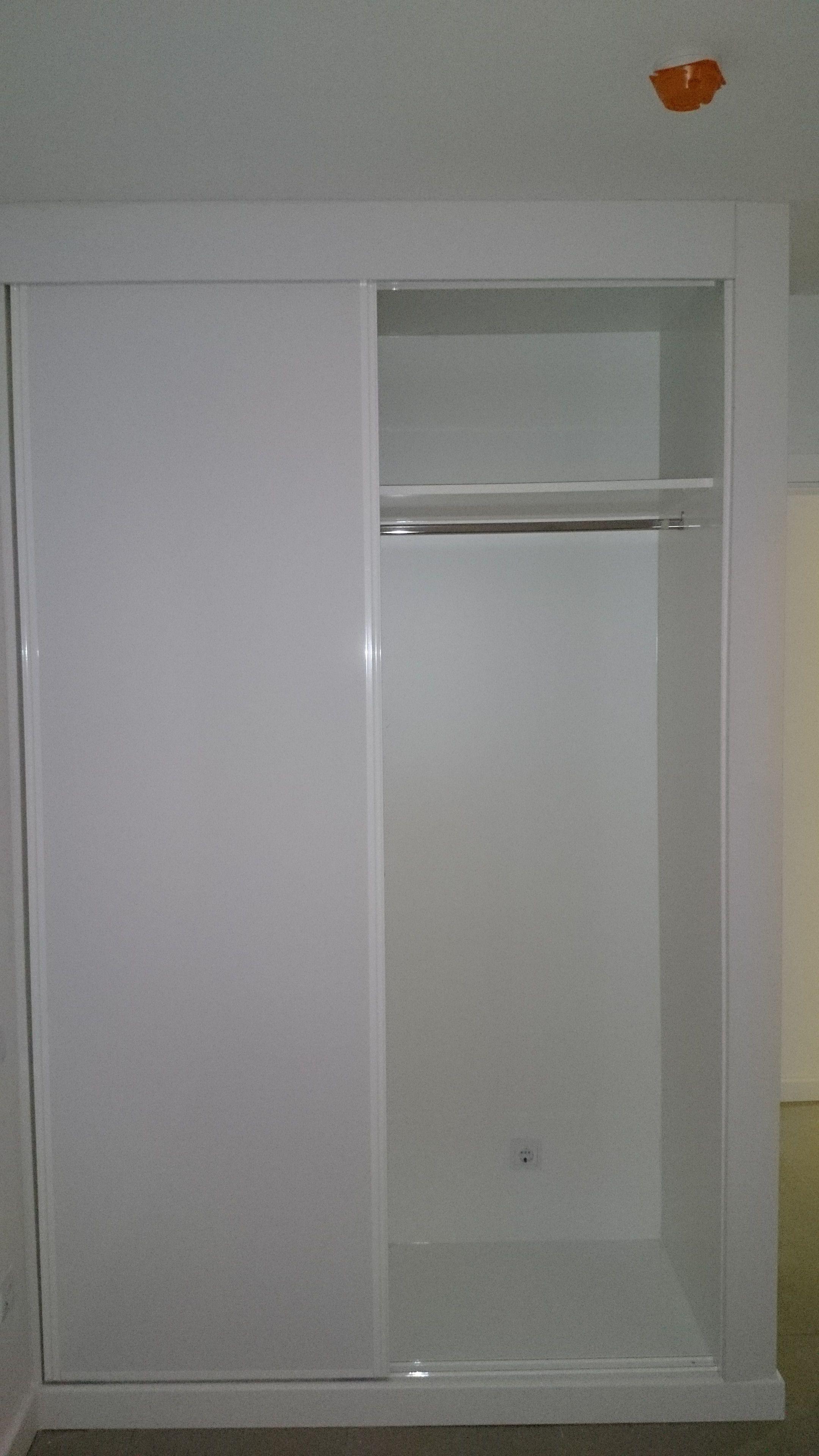 Instalación de interiores de armario