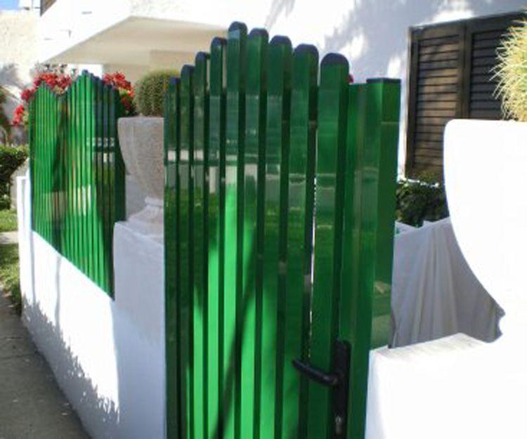 Puertas de jardín de aluminiio