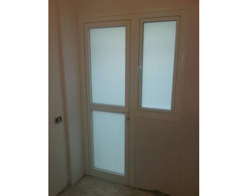 Puertas de aluminio  lacadas