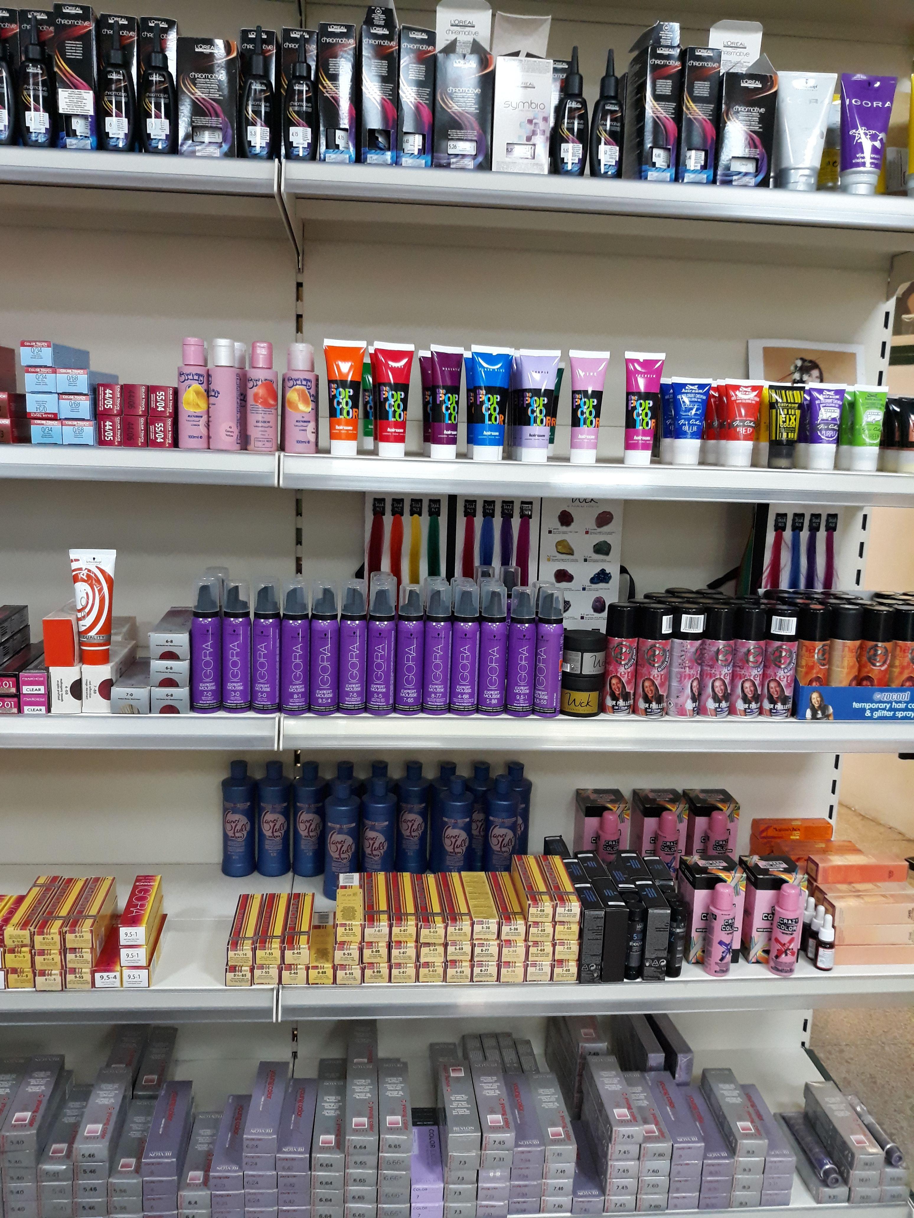 Venta y distribución de productos de peluquería y estética en Girona