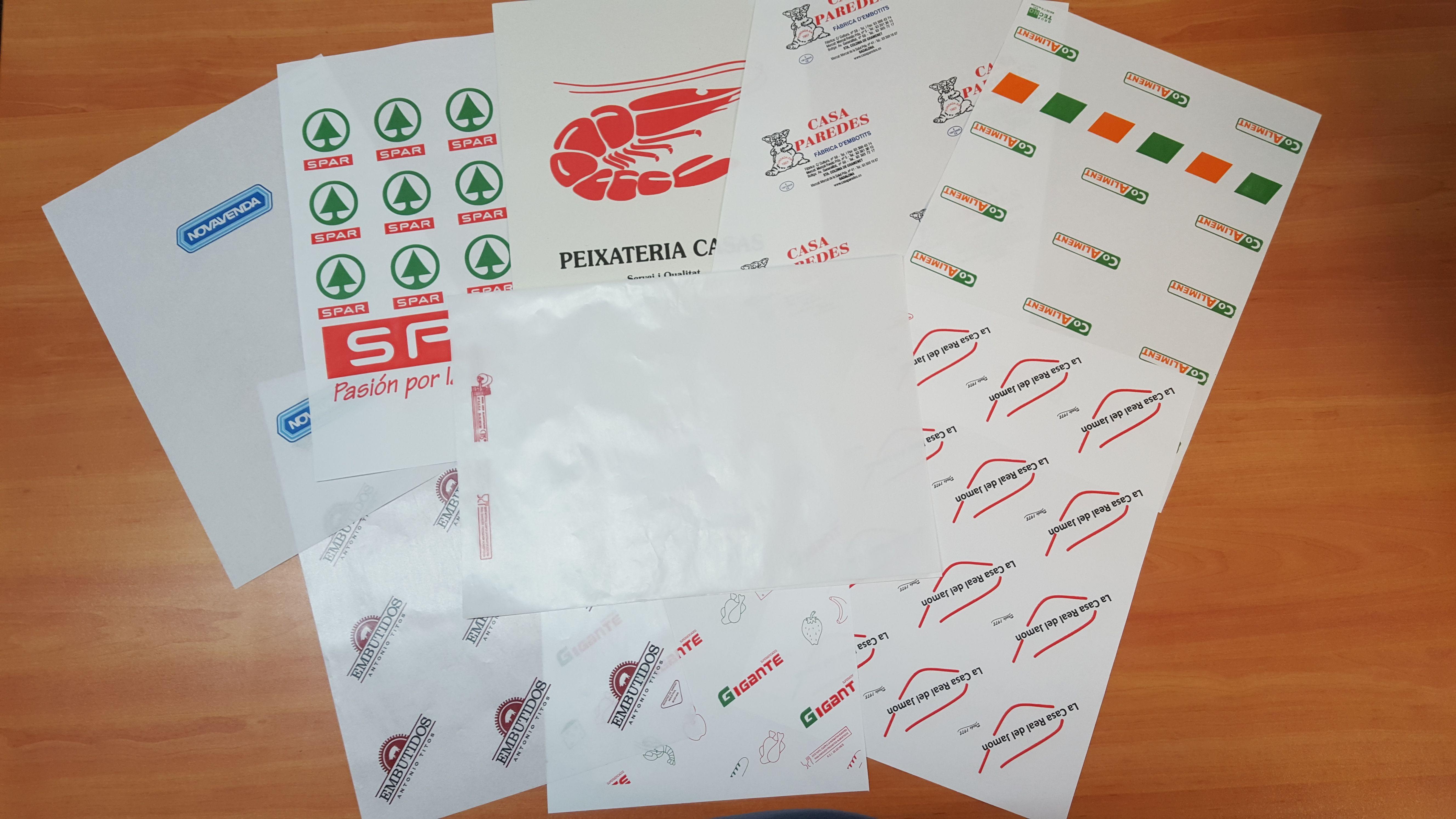 Papel de alimentación y bolsas compostables en Valencia