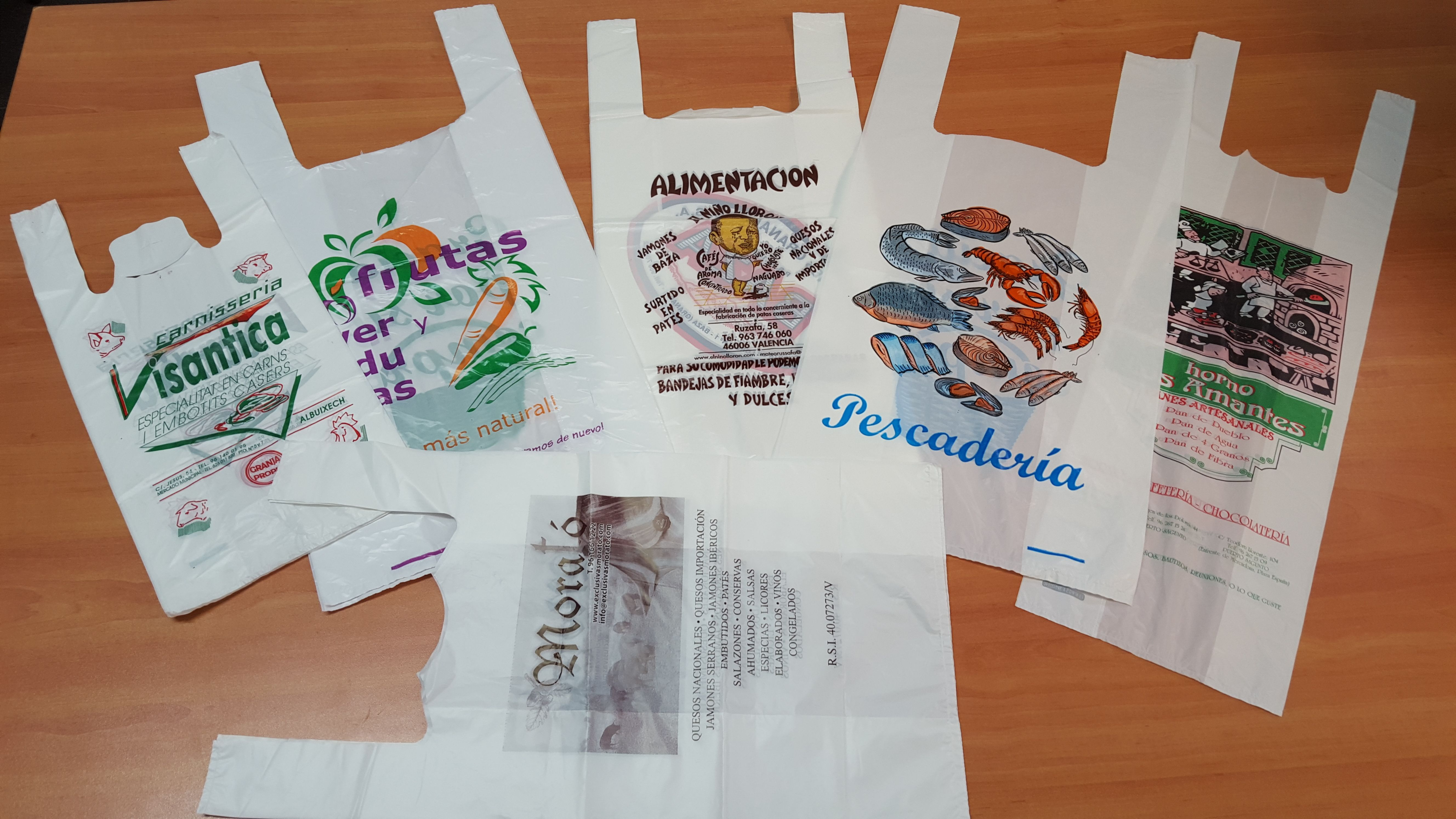 Bolsas impresas personalizadas en Valencia