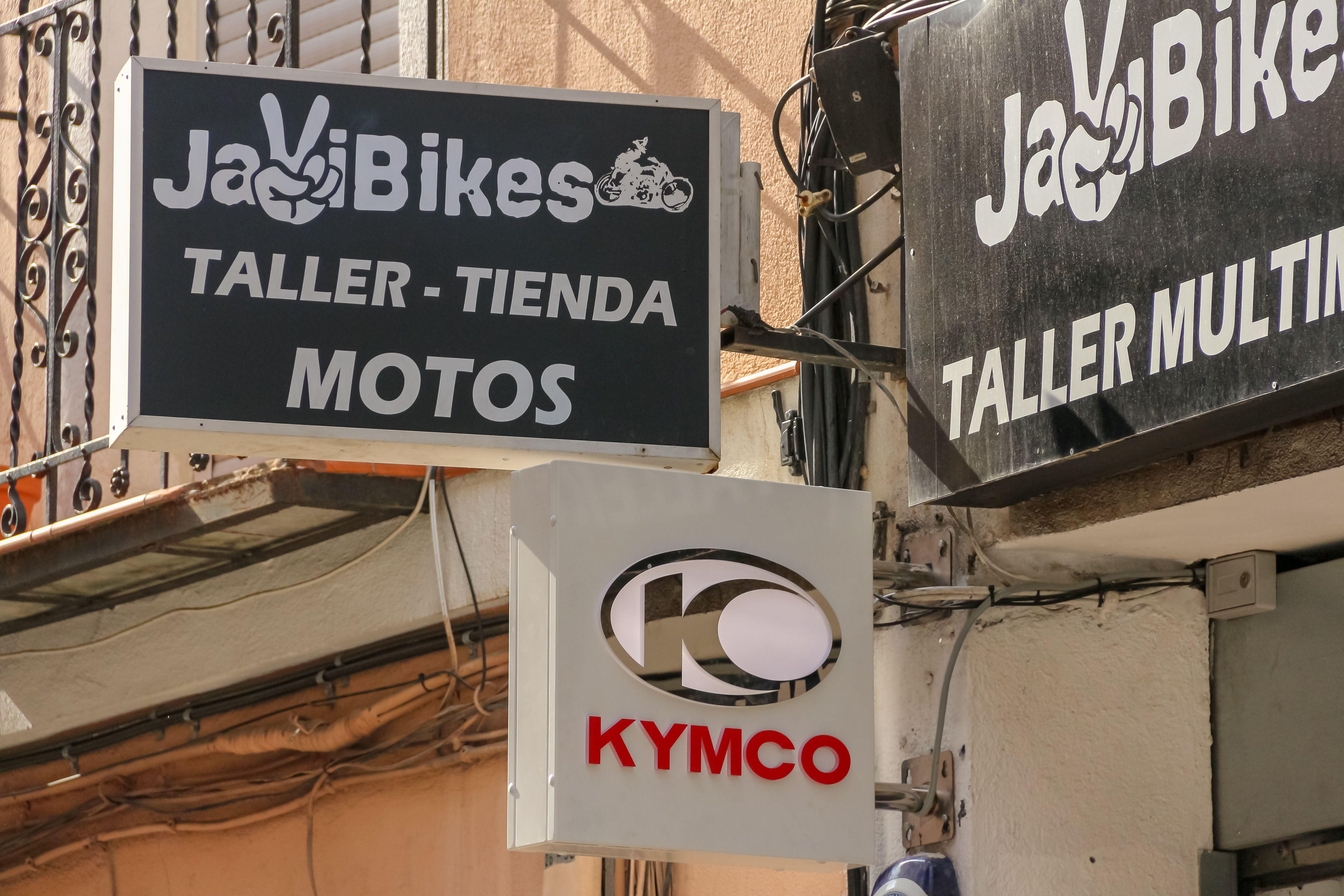 Taller Kymco en Plaza Castilla, Madrid