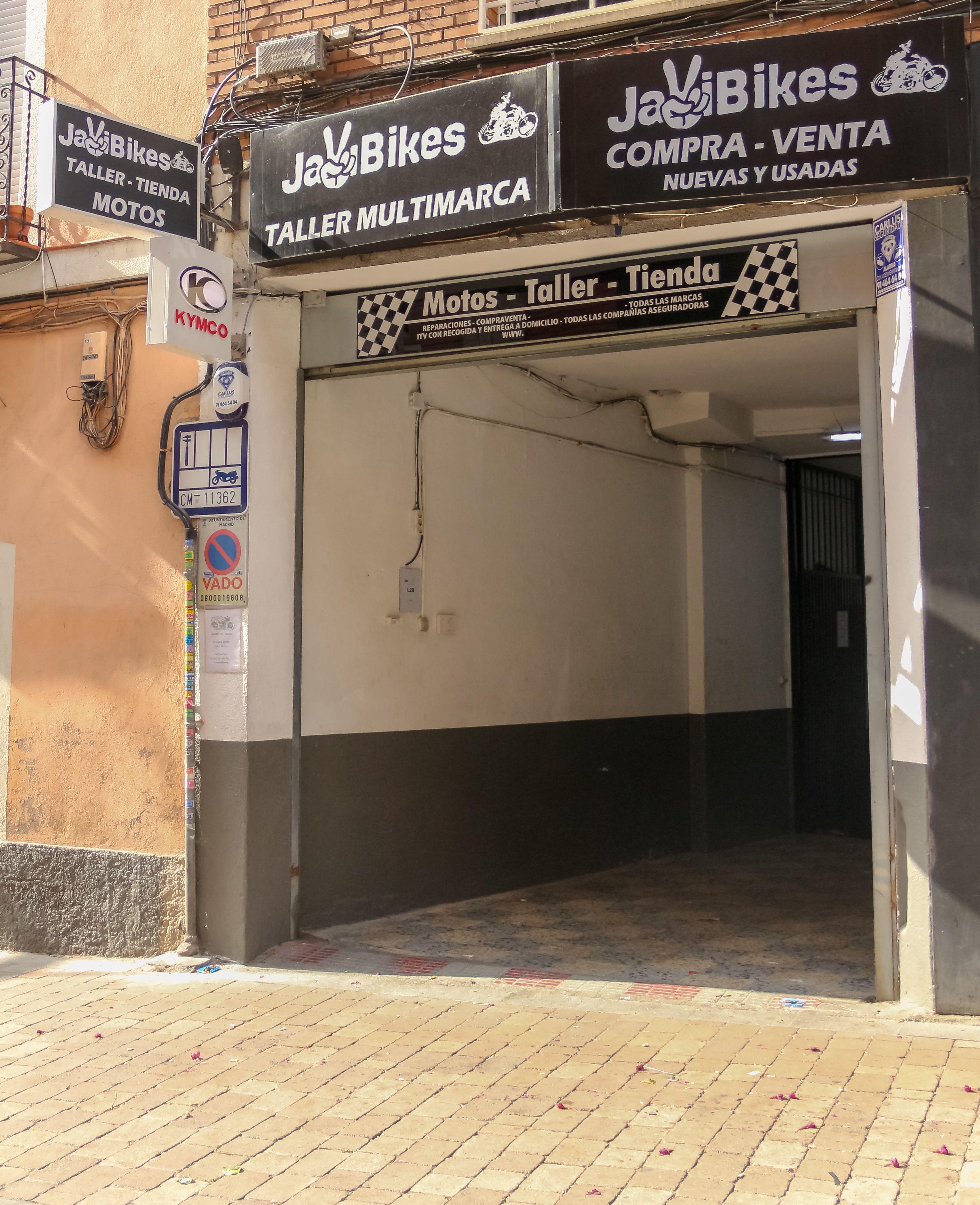Venta y reparación de motos en Nuevos Ministerios, Madrid