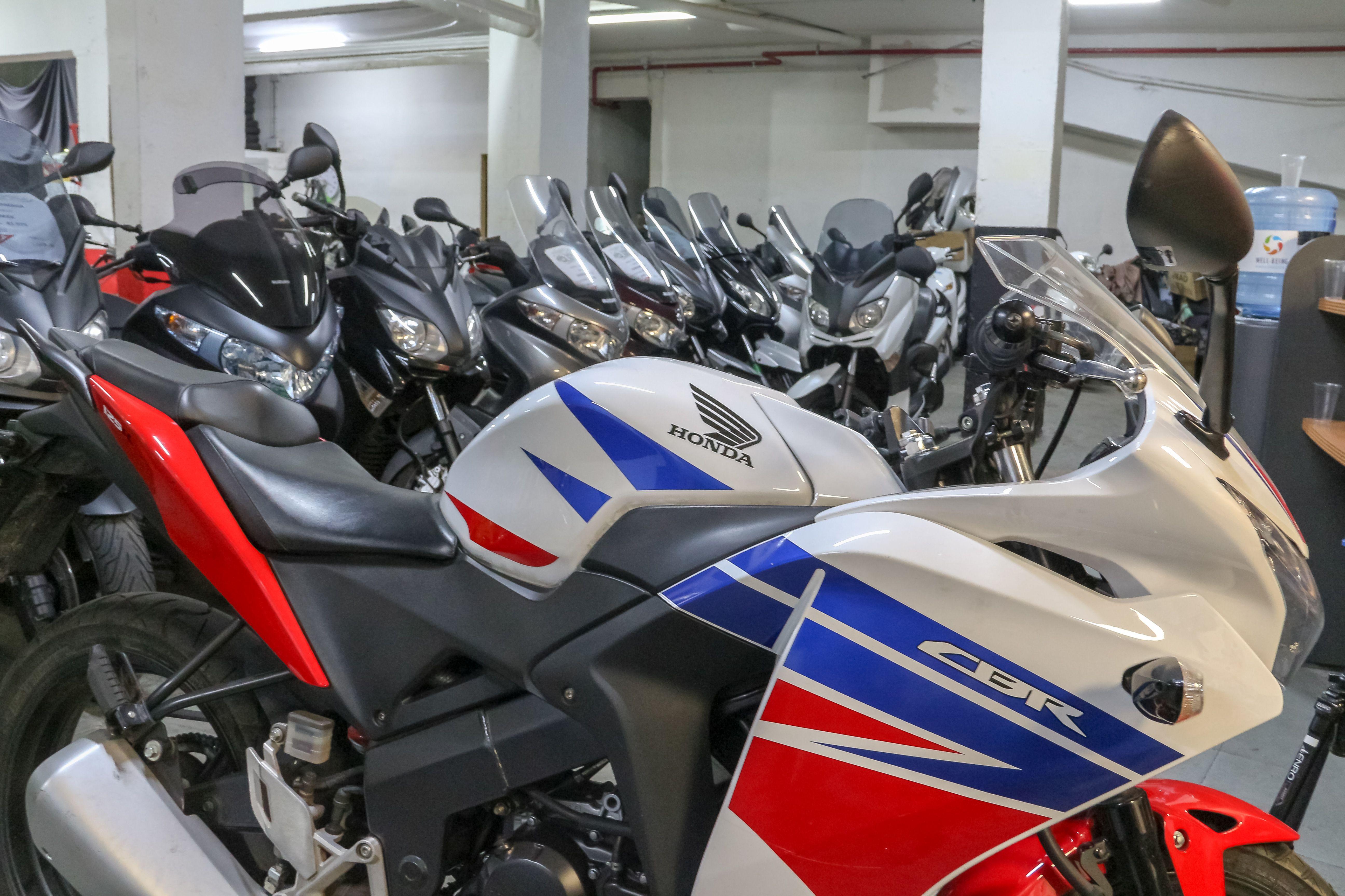 Mantenimiento de motos en Madrid