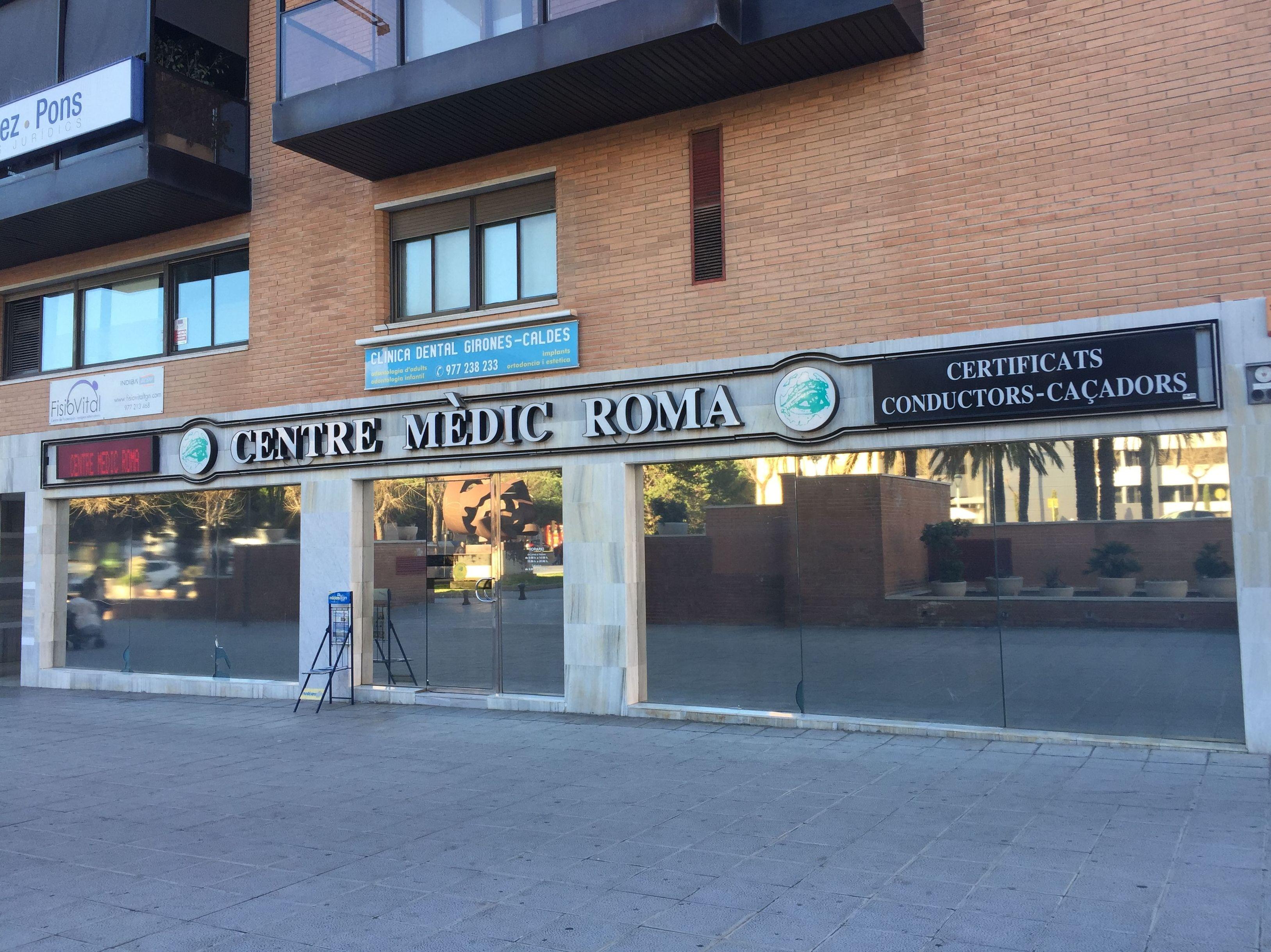 Renovar permiso conducción Tarragona|Centre medic Roma