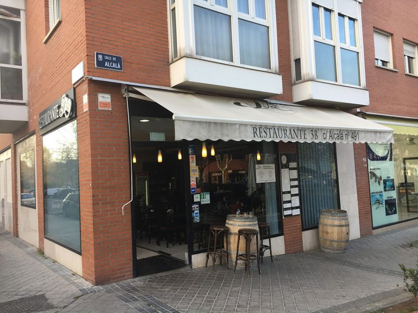 Restaurante junto a la Quita de los Molinos en Madrid