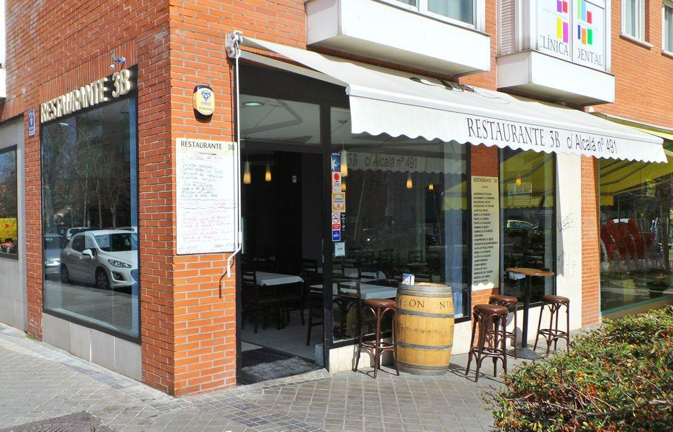 Restaurante 3B en San Blas-Canillejas