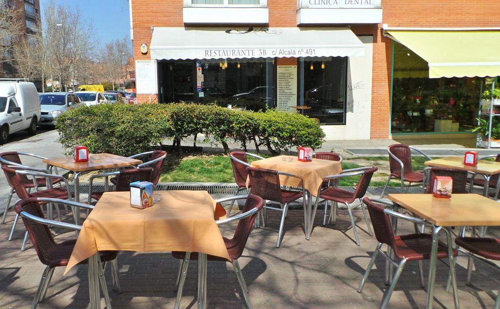 Restaurante con terraza en San Blas-Canillejas