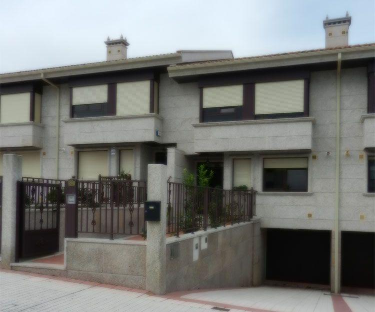 Construcción de viviendas adosadas en Vigo