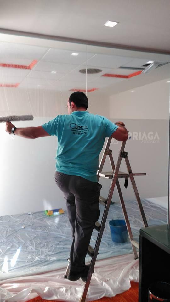 Limpieza de paredes y techos
