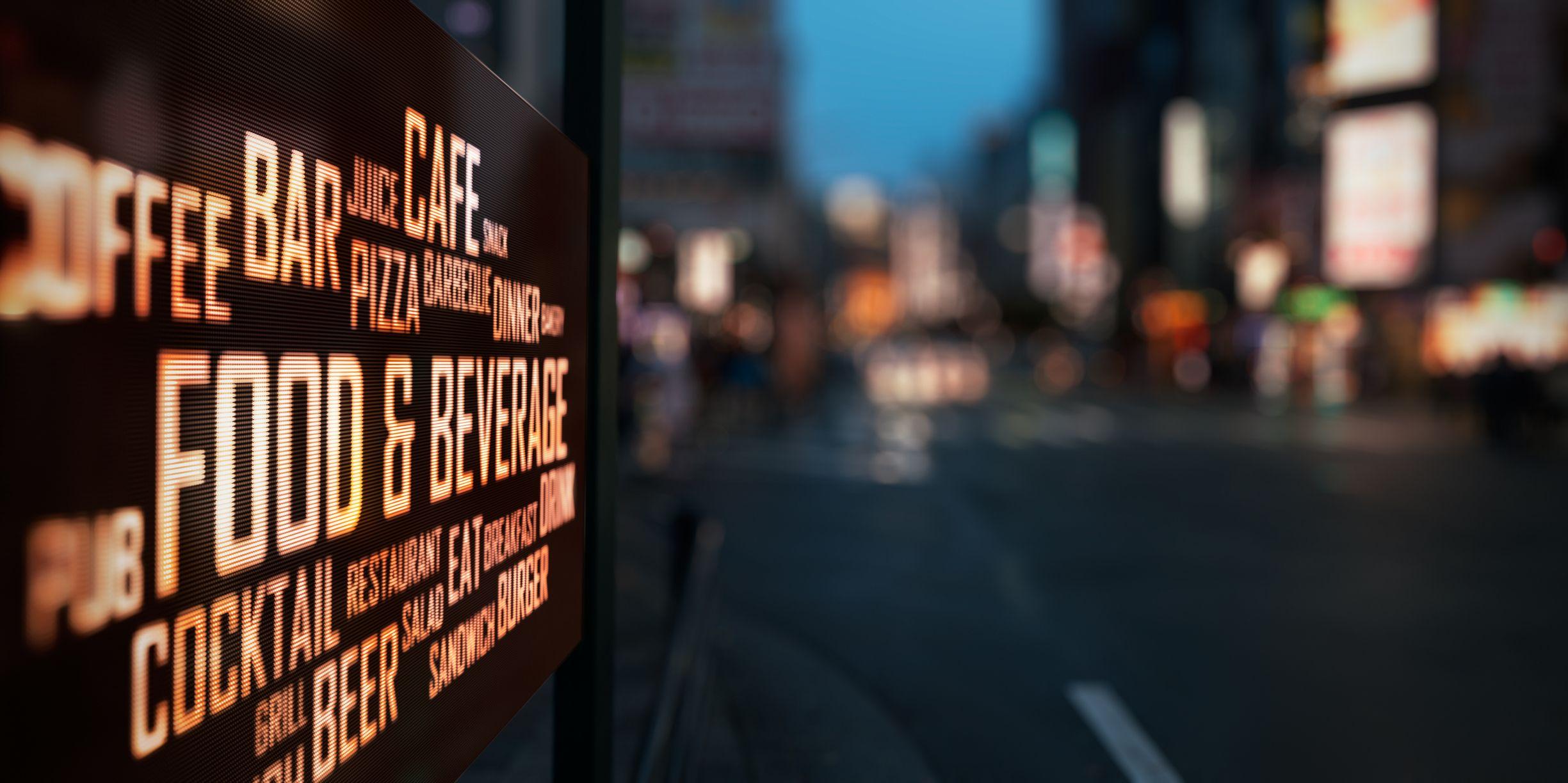 Venta de pantallas led para publicidad en Pontevedra