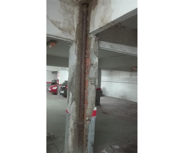 Refuerzo de estructuras en garaje