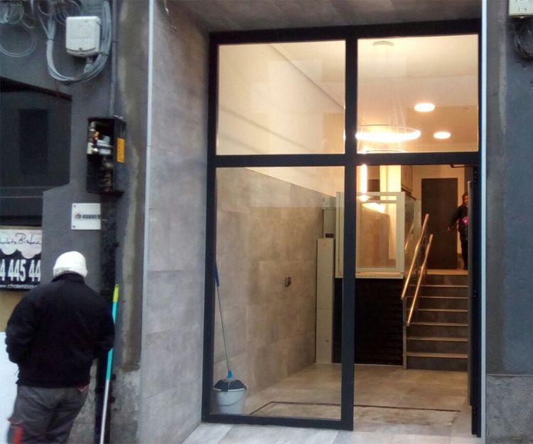 Reforma de portales en Bilbao