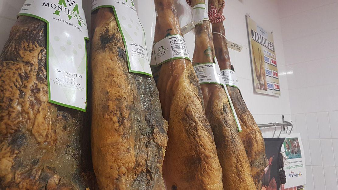 Venta de jamones en Alicante