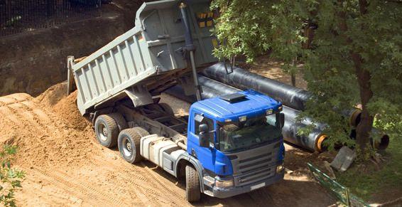 Transporte de graneles: Servicios de Logística Virgen de la Peña