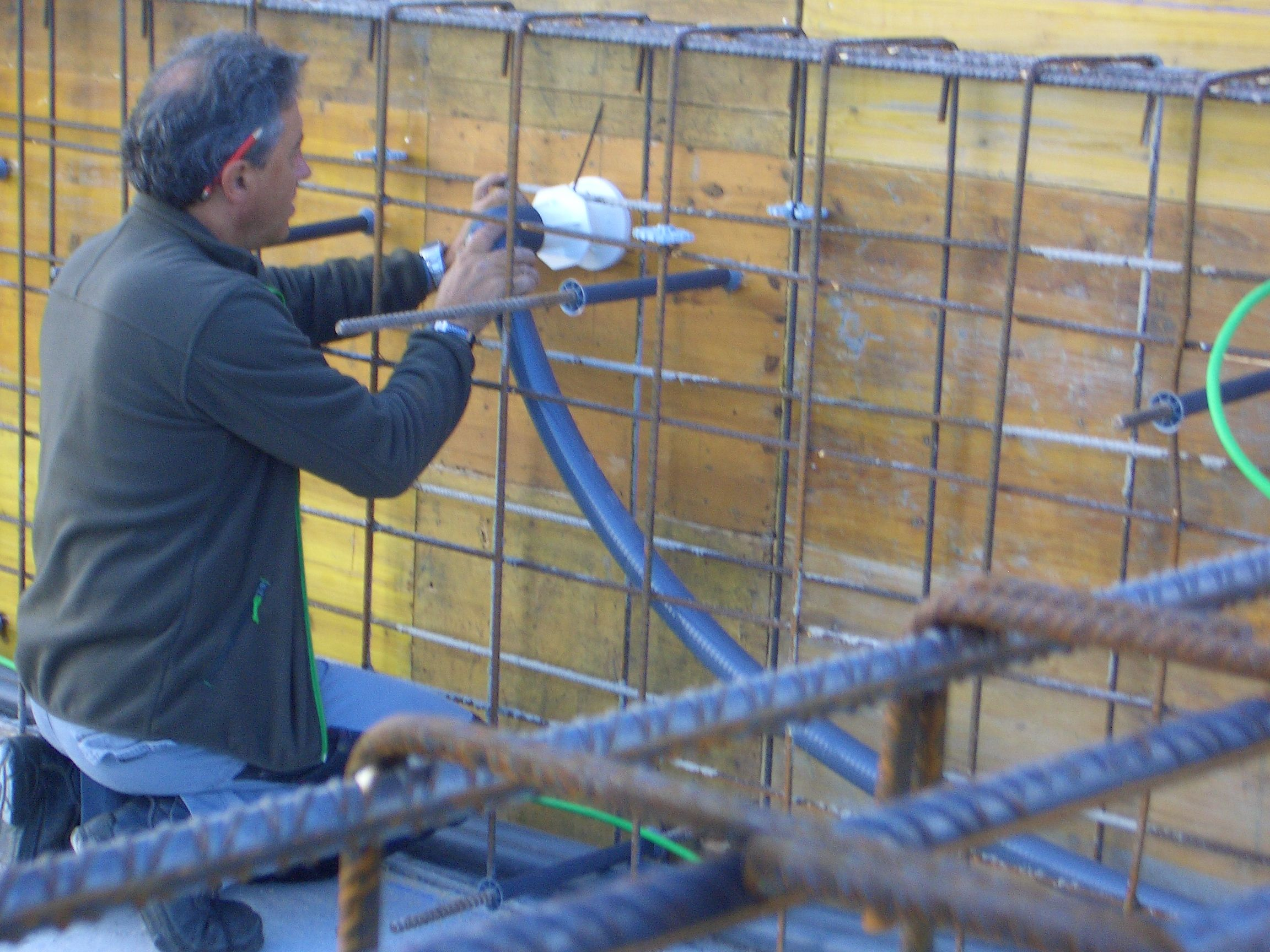 CONSTRUCCIO PISCINA EN UN TERRAT 3