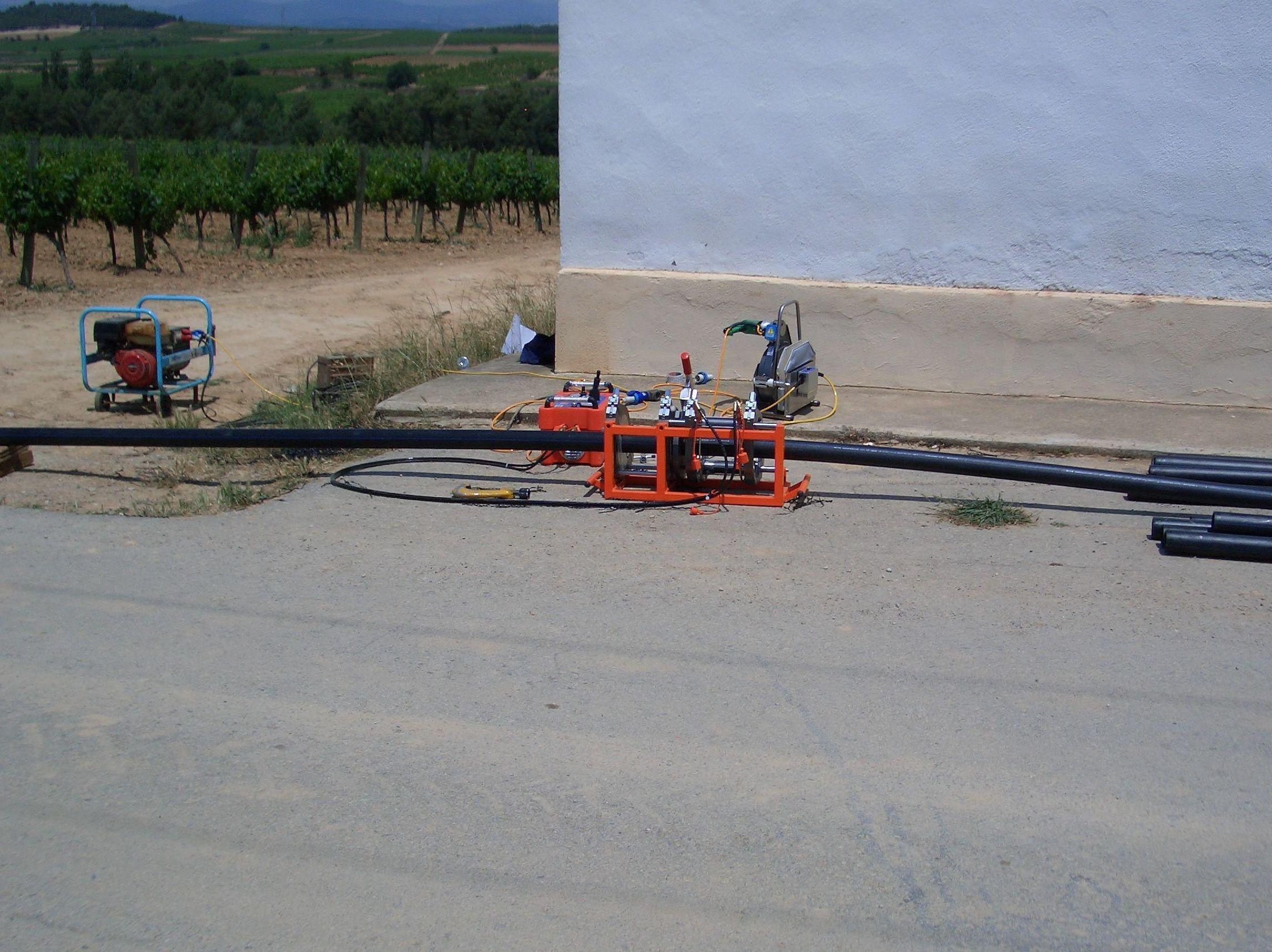 Instalación de bombas de agua