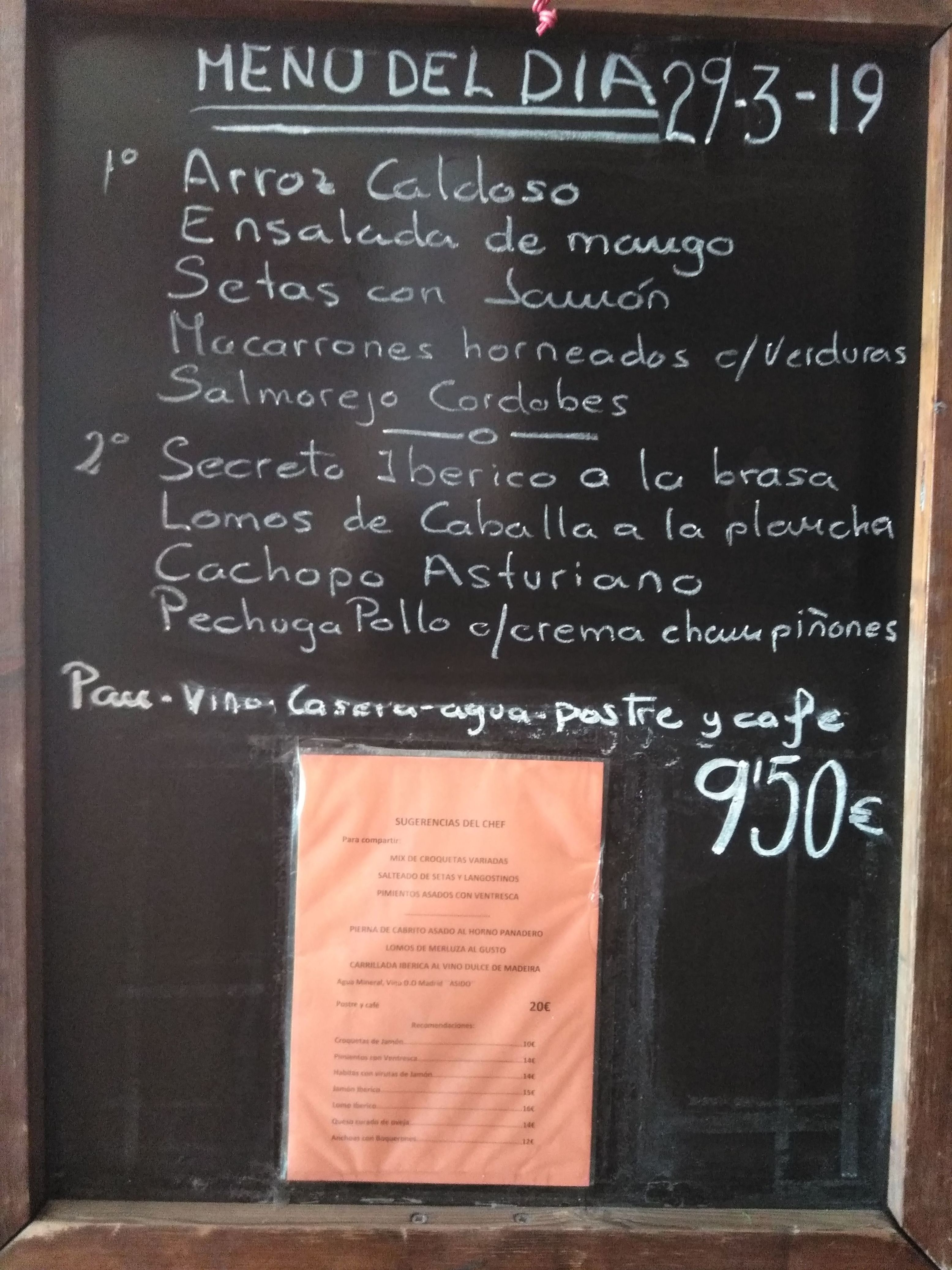 Foto 1 de Cocina castellana en Madrid | Restaurante Gonzalo